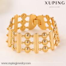 71391 Pulsera de mujer de moda Xuping con oro 18K plateado