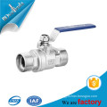 2pc ball valve wcb ss304 ss316 handle ball valve dn15 dn20 dn32 dn40 dn50