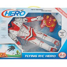 Boy Gift Two Way Controle Remoto Flying Hero Man RC Toy