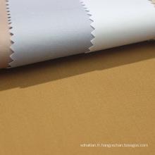 100 tissu de vêtement en coton jersey simple pour vêtements