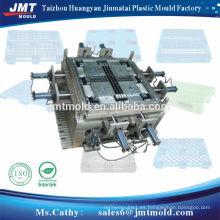máquina plástica del molde de la inyección de la paleta de la inyección plástica de encargo fabricante del molde de Taizhou huangyan
