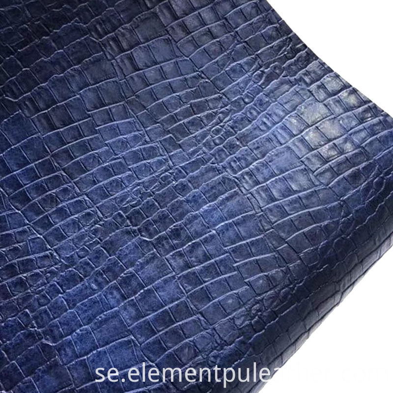 Furniture PU Embossed Leather
