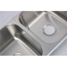 Hot menjual 304 Basin Stainless Steel Undermount Double Bowl