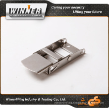 2'' high polished stainless steel webbing cam buckle