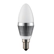 3 ans de garantie 6W Dimmable LED Candle Light