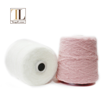 Hilo de lana mercerizada de poliamida de cachemira