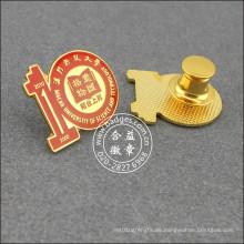 Decennial Souvenir Schule Abzeichen, organisatorische Anstecknadel (GZHY-LP-033)