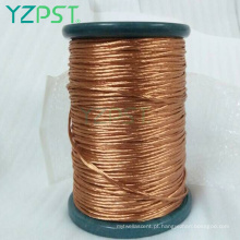Cca cobre alumínio esmaltado ímã enrolamento fio