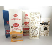 Sac d'emballage en papier SOS pour pain et poudre