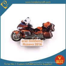 Insigne brodé Goldwing Cool Motorcycle en rouge pour le présent