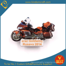 Goldwing Cool Motorcycle Pin Badge in Red for Present