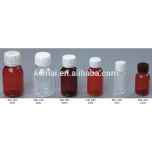 Botella de líquido oral Botella de jarabe de plástico botella de líquido