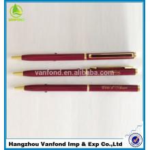 Лучший продаете рекламные металлические подарок ручка для продвижения от фабрики перо