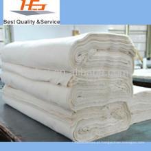 atacado 100 tecido de algodão branco mais barato para cama folha plana