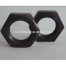 DIN 934 Black Carbon Steel Hex Thin Nut