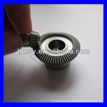 Endurezca los dientes de engranaje cónico de acero M0.5 * 66T