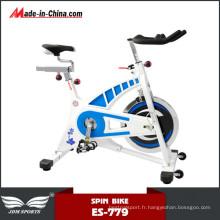 Vélo de Spinning d'entraînement de ceinture de bâtiment de corps de forme physique bon marché d'intérieur