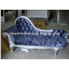 Classical Wooden fabric Royal ladies chair 001