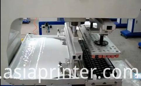 Keyboard Pad Printer large format tampon machine