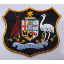 Emblema tecido do remendo Emblemas feitos sob encomenda do logotipo do bordado (GZHY-PATCH-014)