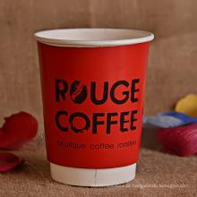 8oz, 10oz, 14oz, 16oz copo de café dobro do papel de parede