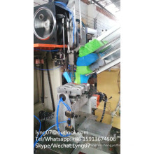 Máquina de tufting de la escoba de 4 ejes 3 colores