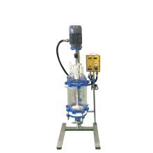 2L Laboratory vacuum chemical glass mixing jacketed reactor