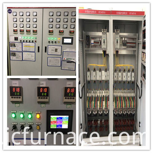 Chamber furnace electrical cabinet
