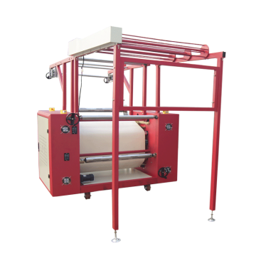 Zipper transfer machine with drum