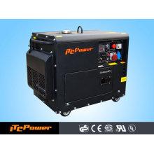 5KW luftgekühlter Dieselgeneratorsatz (leiser Typ) ELEKTRISCHER DIESELGENERATOR SET