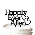 """""""Happily Ever After"""" Wedding Cake Topper Anniversary Cupcake Stand"""