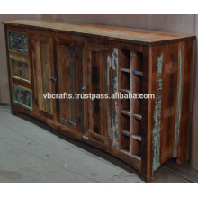 Recycling-Holz-Sideboard