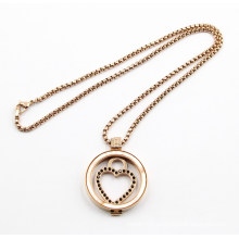 New Arrive Fashion Floating Locket Pendant Necklace