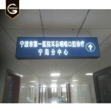 Benutzerdefinierte Aluminium U-Bahnstation Zeichen LED Leuchtkasten