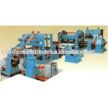 Máquina de nivelamento da placa de aço do CR da hora cortada à máquina do comprimento