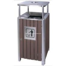 Boa Qualidade WPC Outdoor Waste Bin (DL84)