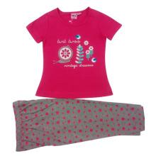 Summer Baby Girl Kids Suit en ropa para niños