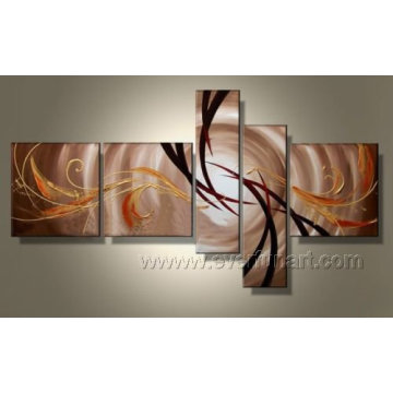 Handmade arte moderna abstrato pintura a óleo sobre tela (xd5-049)