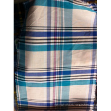 cotton yarn dyed shirting fabric stock lot