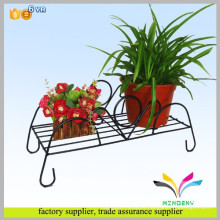 Los productos de China exhiben al por mayor de la exhibición se colocan la venta caliente de lujo innovadora nueva planta de la flor metal el sostenedor del pote del hierro