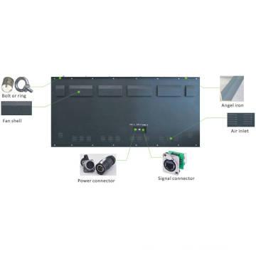 Светодиодная вывеска для наружного освещения P10mm DIP Front Access