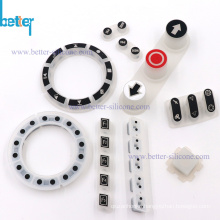 Custom Silicone Rubber Remote Control Button Switch Keyboard
