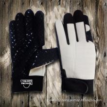 Silicone Dotted Palm Glove-Industrial Glove-Labor Glove-Machine Glove-Weight Lifiting Glove