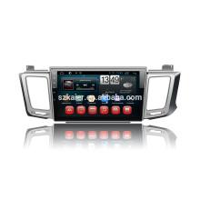 Kaier fábrica + Quad-core -Full pantalla táctil android 4.4.2 dvd del coche para Toyota Rav4 + OEM + enlace Mirrior + TPMS + OBD2