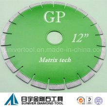 """GP 12 """"* 15 mm gute Qualitätsklinge und modernes Design-Diamant-Trennscheibe für Granit"""