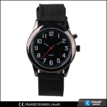 number on dial watch fabric wrist watch 2015