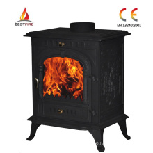 Cast Iron Wood Burn Fireplace