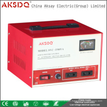 Hot SVC Single Phase Automatic High Precision Servo Motor AC Voltage Stabilizer For Fridge Made In China