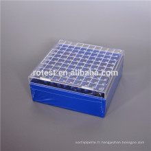 Boîtier PC pour tubes de congélation / tubes cryogéniques