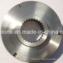 Pièces de usinage de commande numérique par ordinateur de fabrication d'acier inoxydable